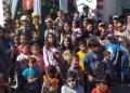 Reyes Magos llegaron cargados de golosinas a Los Salias