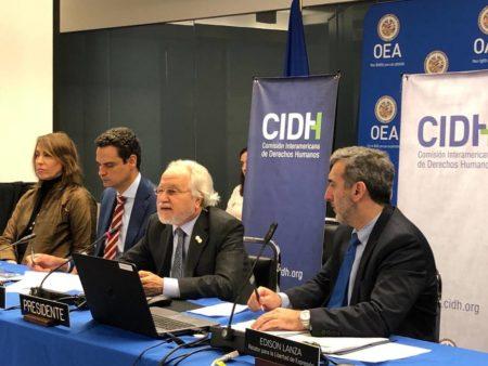 """La CIDH cree que Maduro enfrenta una """"prueba de fuego"""" con regreso de Guaidó"""
