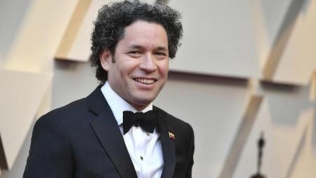 """Dudamel en la alfombra roja de los Óscar: """"Viva Venezuela libre"""""""