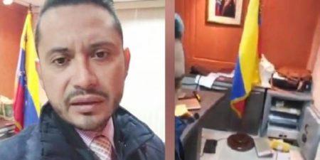 Banda armada asalta entre insultos el consulado de Venezuela en Ecuador