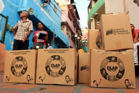 Suspenden entrega de CLAP en Miranda tras regalo de 20 mil cajas en Cúcuta