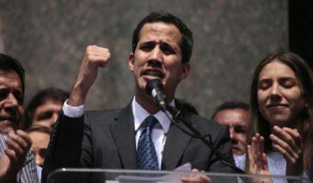 """Guaidó dice que el """"momento es ahora"""", antes de discurso de Trump en Miami"""
