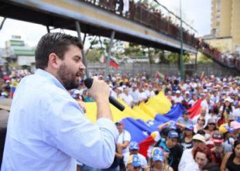 Jesús González, dirigente político de Voluntad Popular en Guaicaipuro