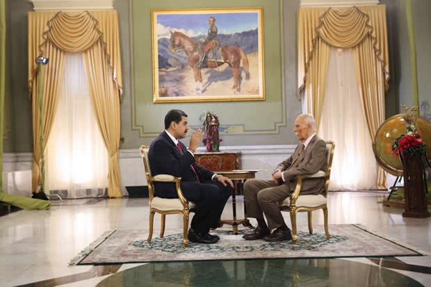 Maduro promete medio petro de aguinaldo a pensionados en diciembre