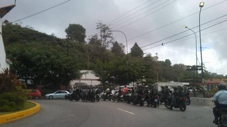 Organismos de seguridad activaron operativo en los Altos Mirandinos