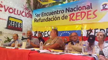 Movimiento REDES apuesta por el rescate de la ruta democrática pacífica y constitucional