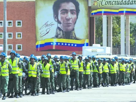 ARRANCA EN CARACAS PLAN QUE SUMA A MILITARES A LUCHA CONTRA EL HAMPA