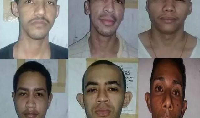 Estos hombres están siendo activamente buscado por la policía