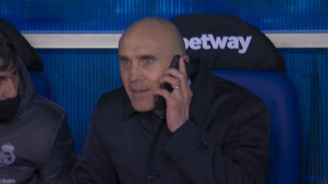 """Bettoni: """"Zidane es el jefe y quería saber lo que pensaba para los cambios"""""""