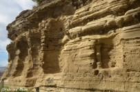 Reperti archeologici nel tufo di Monte Echia