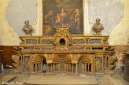 altare ligneo sacrestia vecchia chiesa santi filippo e giacomo