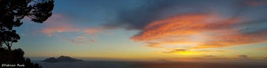tramonto luglio da massa lubrense