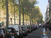 Avenue Kléber, por ela chegamos no Arco do Triunfo