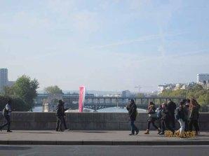 A Ida da Torre para o Trocadero pela ponte D'Iena