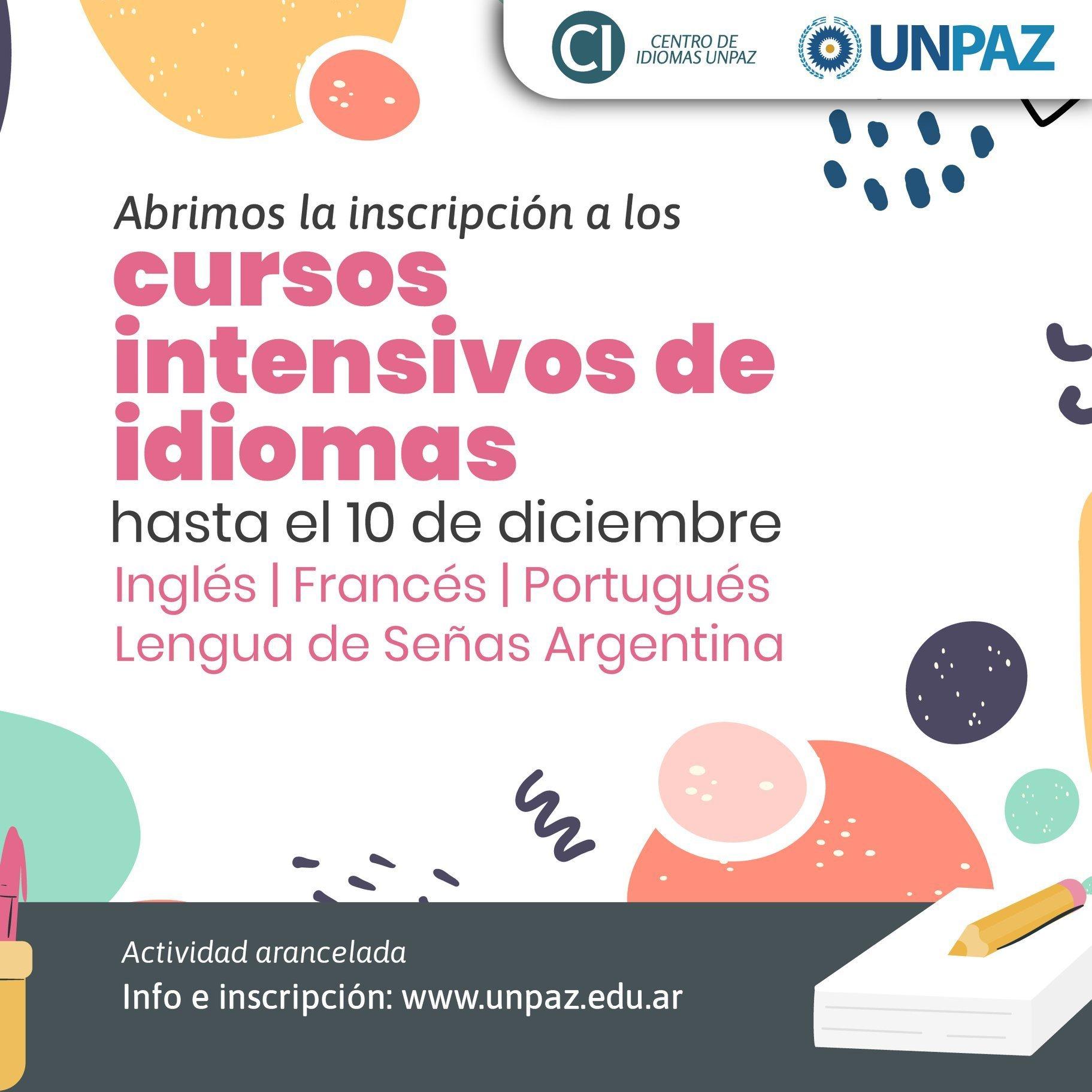 La Unpaz Abre Inscripcion A Cursos Intensivos De Idiomas Diario Ph