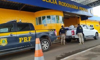 PRF apreende carga de eletrônicos avaliada em mais de R$ 62 mil em Floriano