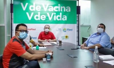 Sesapi confirma vacinação de policiais que atuam na linha de frente da Covid