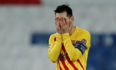Barcelona empata com PSG e é eliminado na Champions