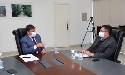 Governador se reúne com presidente da APPM e anuncia liberação de recursos