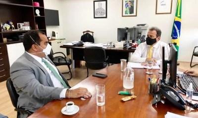 Georgiano Neto participa de audiência com presidente da Funasa