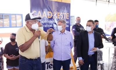 SAAD Leste inaugura Mercado do Satélite e entrega obras na região