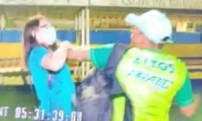 Jornalista da TV Clube é agredida após filmar briga na partida entre Altos e Flu-PI