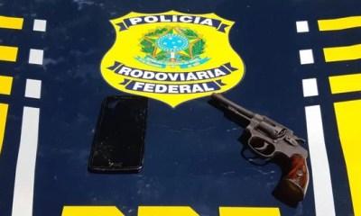 Acusados de pertencer a facções criminosas são presos pela PRF na BR 316