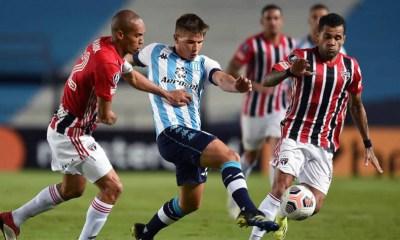 São Paulo empata sem gols contra o Racing