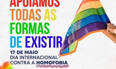Semcaspi promove programação em alusão ao dia internacional de combate à homofobia