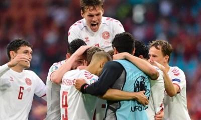 Dinamarca goleia País de Gales e está nas quartas de final