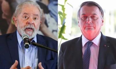 Lula tem 49% das intenções de voto e Bolsonaro, 23%, diz pesquisa Ipec