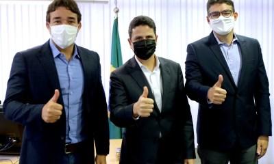 Marden Menezes e Luciano Nunes participam de reunião do PSDB em Brasília