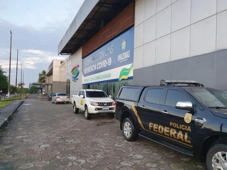 Polícia Federal faz buscas contra o governador do Amazonas