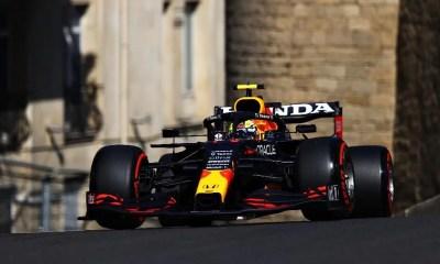 GP do Azerbaijão: Sergio Pérez é o mais rápido no primeiro treino