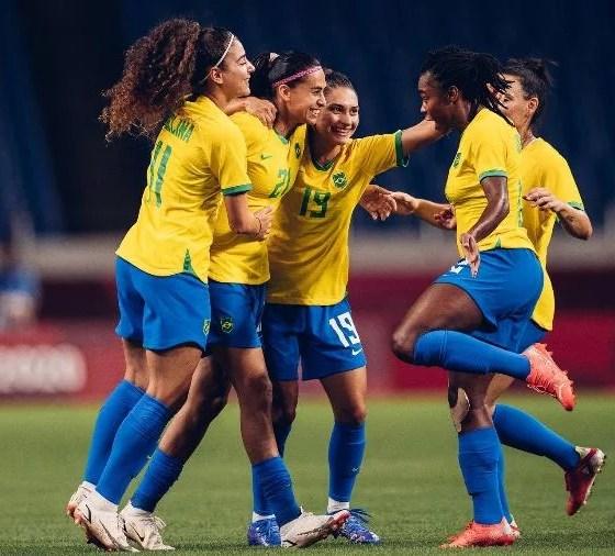 Brasil vence a Zâmbia e enfrenta o Canadá nas quartas