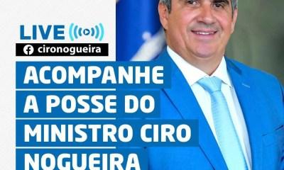 Ciro Nogueira toma posse nesta quarta-feira na Casa Civil; saiba como acompanhar