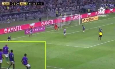 Atlético-MG protocola reclamação na Conmebol para tentar anular gol do Palmeiras