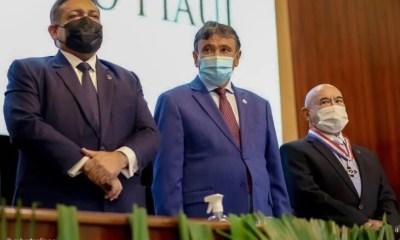 Governador participa de cerimônia dos 130 anos do TJ-PI