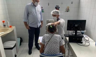 Sesapi realiza triagem para mutirões de catarata em Campo Maior