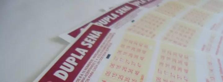 Resultado da Dupla-Sena do concurso 1797 que pagará R$ 1 milhão será divulgado está noite pela Caixa