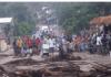 4 heridos en Baitoa por la policía, manifestantes reclamaban agua potable
