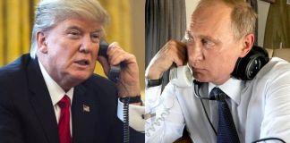 Trump y Putin hablan por teléfono más de una hora sobre crisis de Venezuela