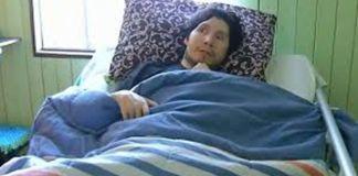 Al llevarlo de vuelta al hospital le confirmaron que había tenido una infección que le había afectado al cerebro.