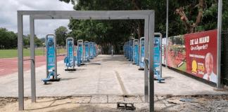 Alcalde San Cristóbal inaugura primer gimnasio con equipos para adultos mayores y personas con discapacidad