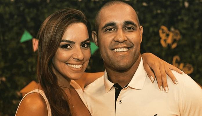 Jessica Guedes, una novia de 30 años que tenía 7 meses de embarazo, y  su novio Flávio Gonçalves da Costa, de 31 años. ( fuente externa)
