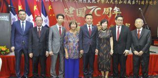 Huang Jinen, Wilson Ho, Tony Ng, Rosa Ng, Zhang Run, Niyan Duan, Marino Joa y SuKing Fung.
