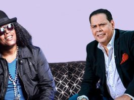 Sergio Vargas y Fernando Villalona juntos en Hard Rock Live