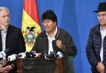 Renuncia el presidente de Bolivia, Evo Morales, tras casi 14 años en el poder. (Foto fuente externa).