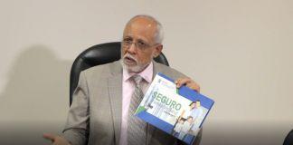 Dr. Pedro Luis Castellanos, Superintendente de Salud y Riesgos Laborales. Foto fuente externa.