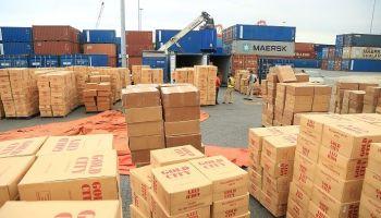 Aduanas decomisa un contrabando de 23 millones de cigarrillos